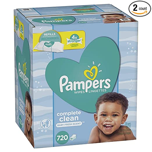 Review Pampers Baby Water Wipes
