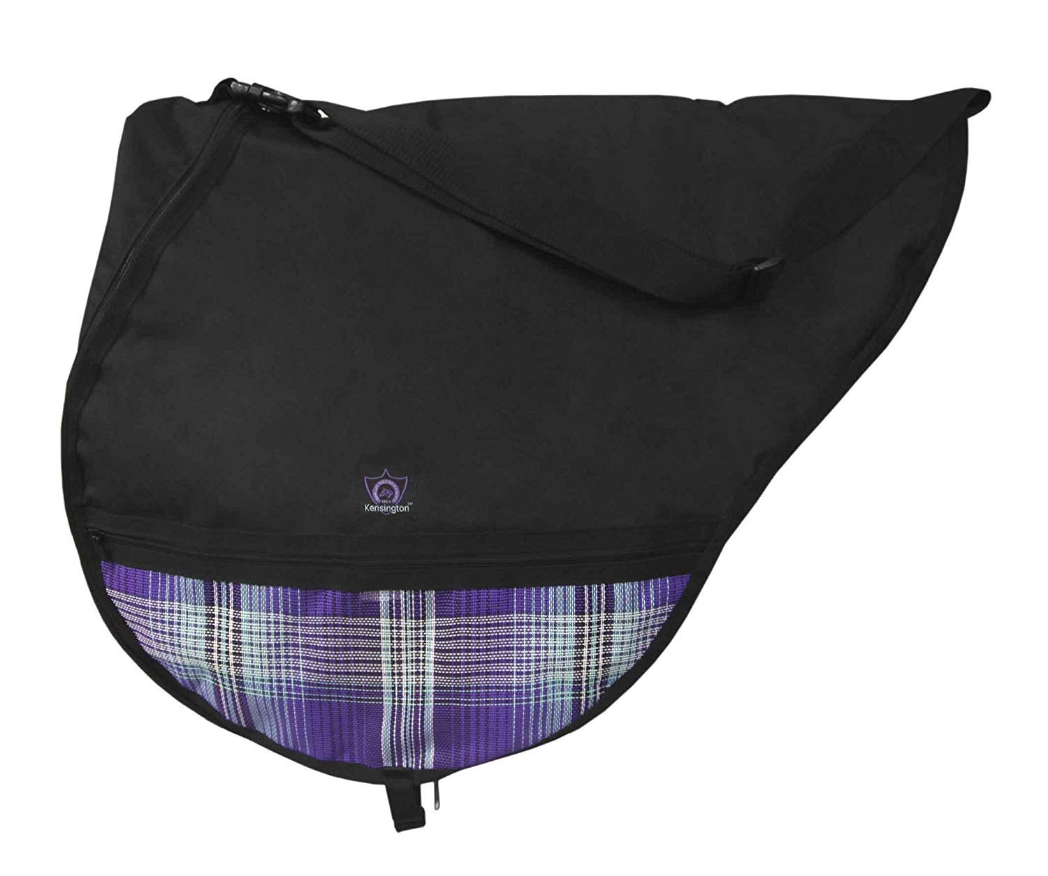 Kensington All Around English Saddle Bag Lavender by Kensington Protective Products