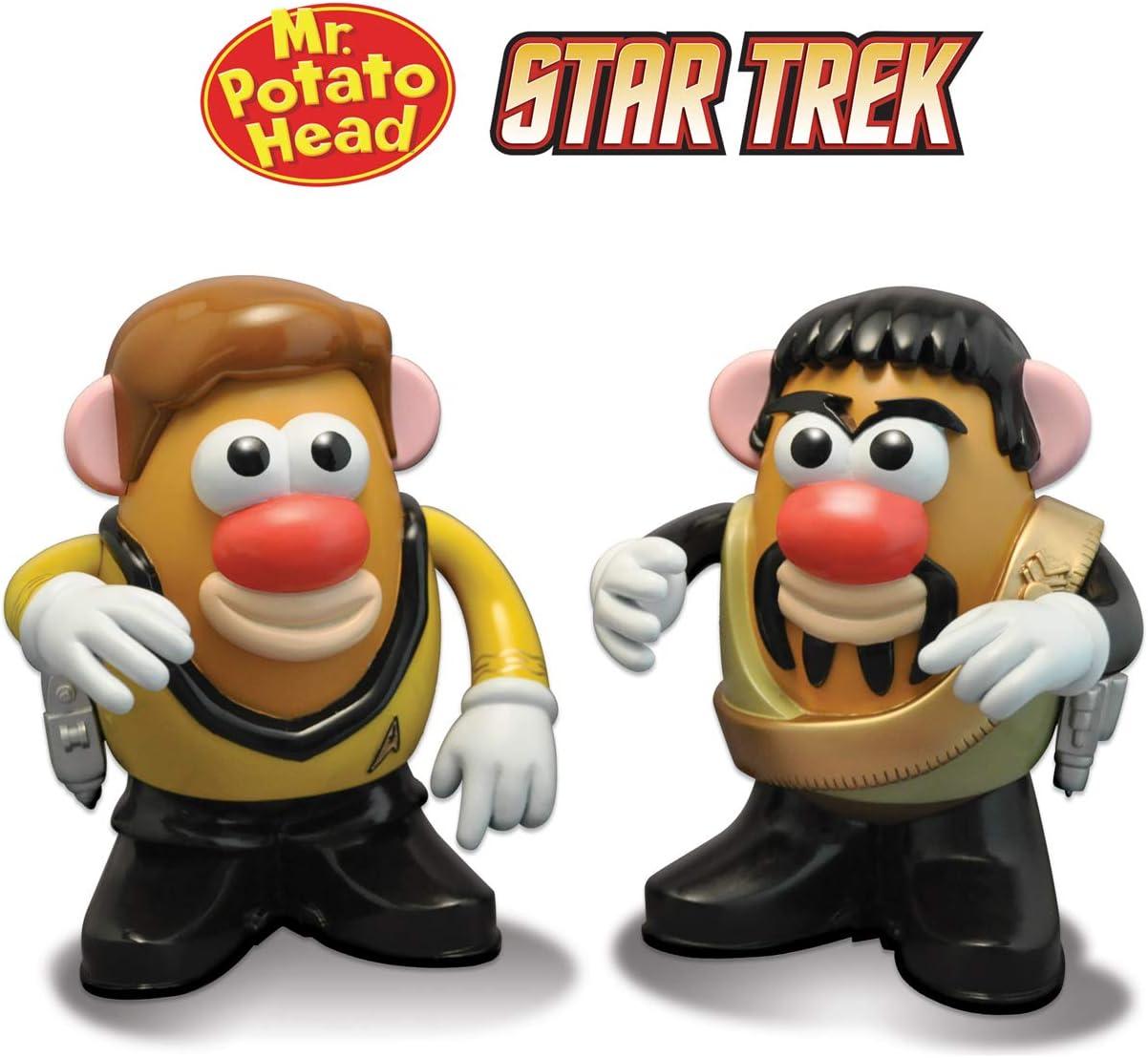 Monsieur Patate Star Trek Captain Kirk et Klingon Kor