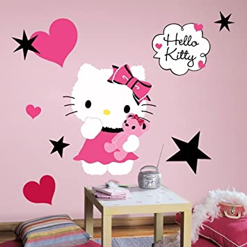 Wall Decals Hello Kitty Custom Vinyl Decals - Hello kitty wall stickers