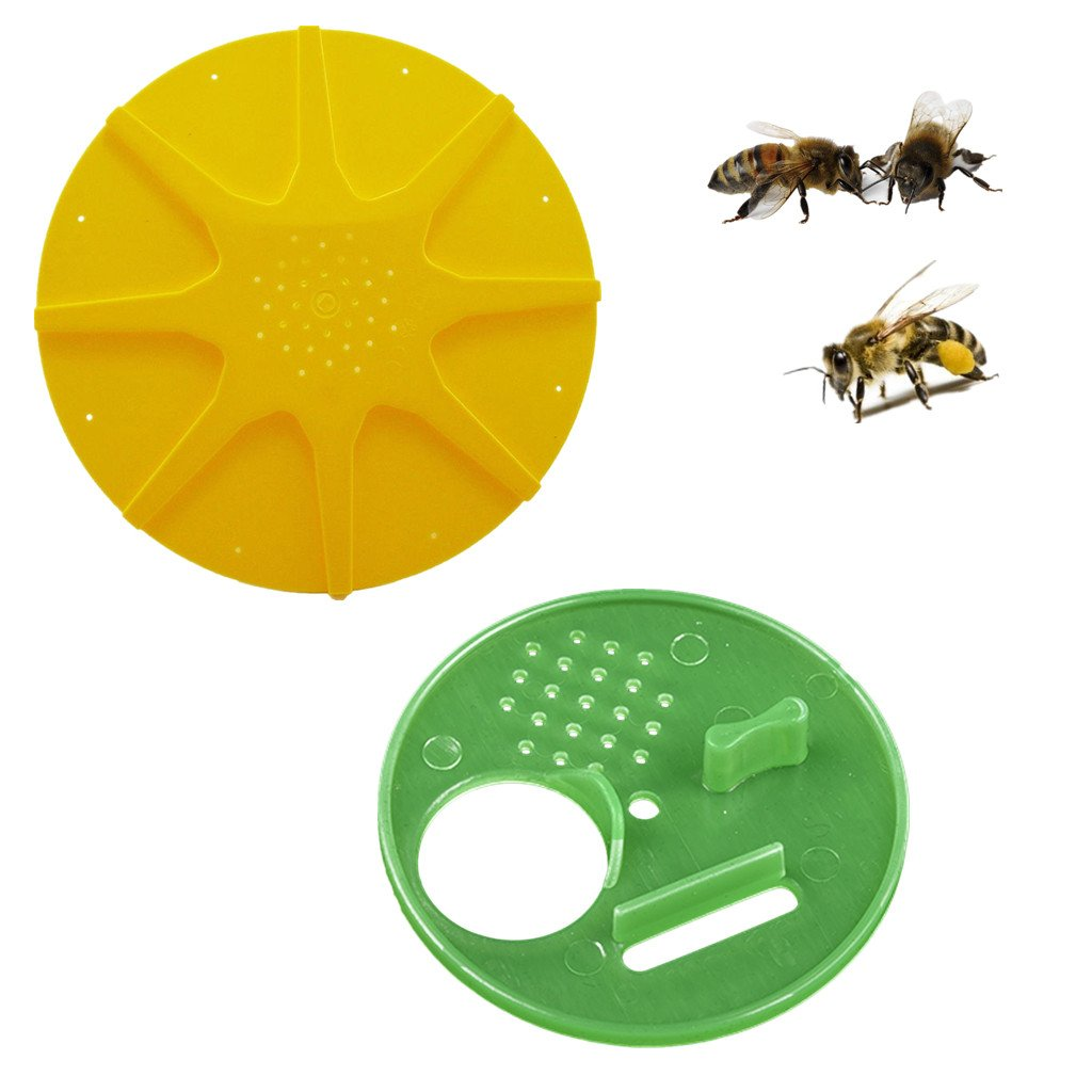 10x Beekeeping Entrance Gate Bee Hive Nuc Box Entrance Honeycomb Entrance