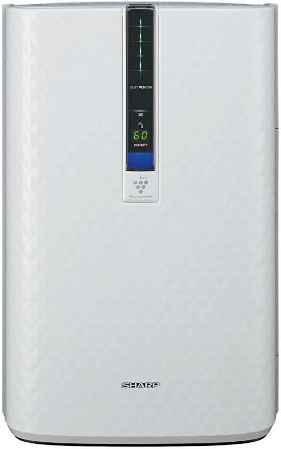Sharp Triple Action Plasmacluster Air Purifier with Humidifying Function (254 sq. ft.), KC-850U