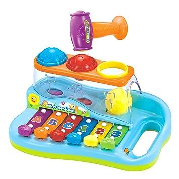 1 Año Early Con Para Colores 3 Bolas Xilófono De Education Bebé S4jqAc3R5L