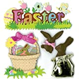 Jolee's Boutique Easter Chocolate Bunnies Dimensional Stickers