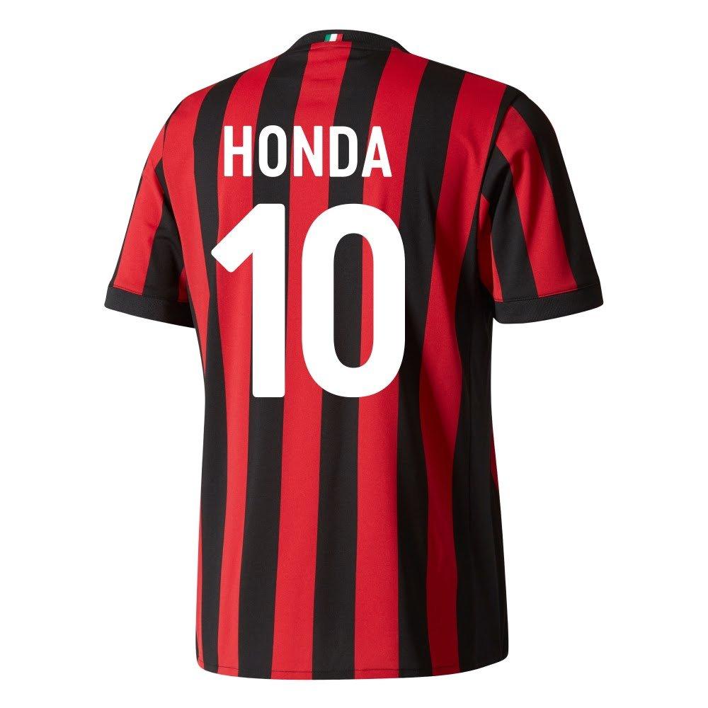 AC Mailand Home Trikot 2017 2018 + Honda 10 (Fan Style)