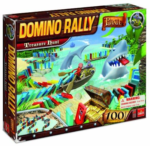 Domino Rally Pirate Treasure Hunt -