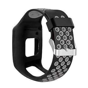Amazon.com: LLJEkieee Replacement Silicone Waterproof Watch ...