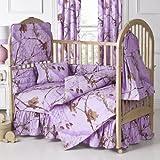 Kimlor Mills Realtree APC Crib Bedskirt, Lavender