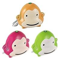 Omnibus Monkey Milo - Nuevo inhalador para niños Aparato para medicamentos líquidos con compresor Nebulizador