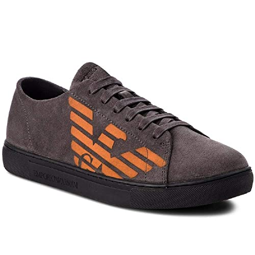 bdb1069d4a Emporio Armani DI Giorgio Armani Sneakers Men Gray 43M: Amazon.co.uk ...