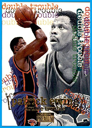 1996-97 SkyBox Premium #262 Patrick Ewing NEW YORK KNICKS GEORGETOWN HOYAS Head Coach from Skybox Premium