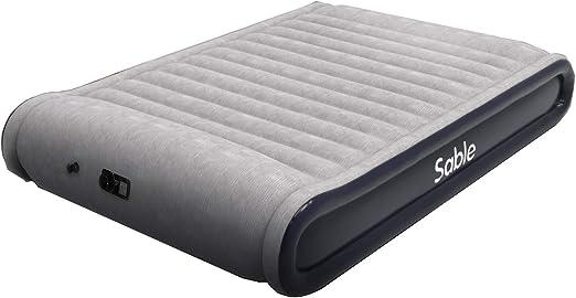 Amazon.com: Sable colchón de aire con almohada integrada ...