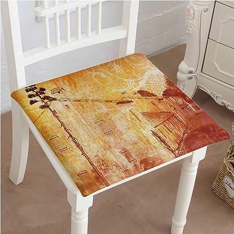 Amazon.com: Mikihome - Cojín para silla de comedor con ...