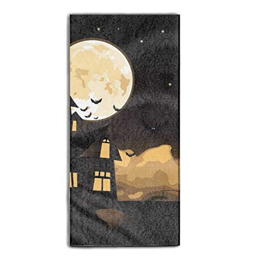 ewtretr Holiday Halloween Premium Eco-Friendly Bath Towel ...