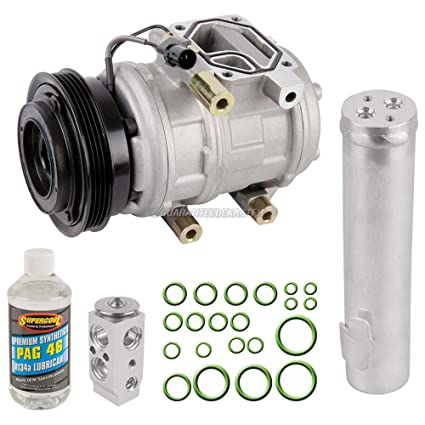 Amazon.com: AC Compressor w/A/C Repair Kit For Hyundai Tucson and Kia Sportage 2005-2007 - BuyAutoParts 60-81180RK NEW: Automotive
