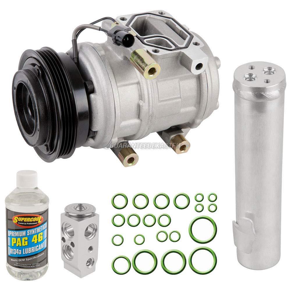 For Hyundai Tucson and Kia Sportage 2005-07 AC Compressor w//A//C Repair Kit BuyAutoParts 60-81180RK NEW