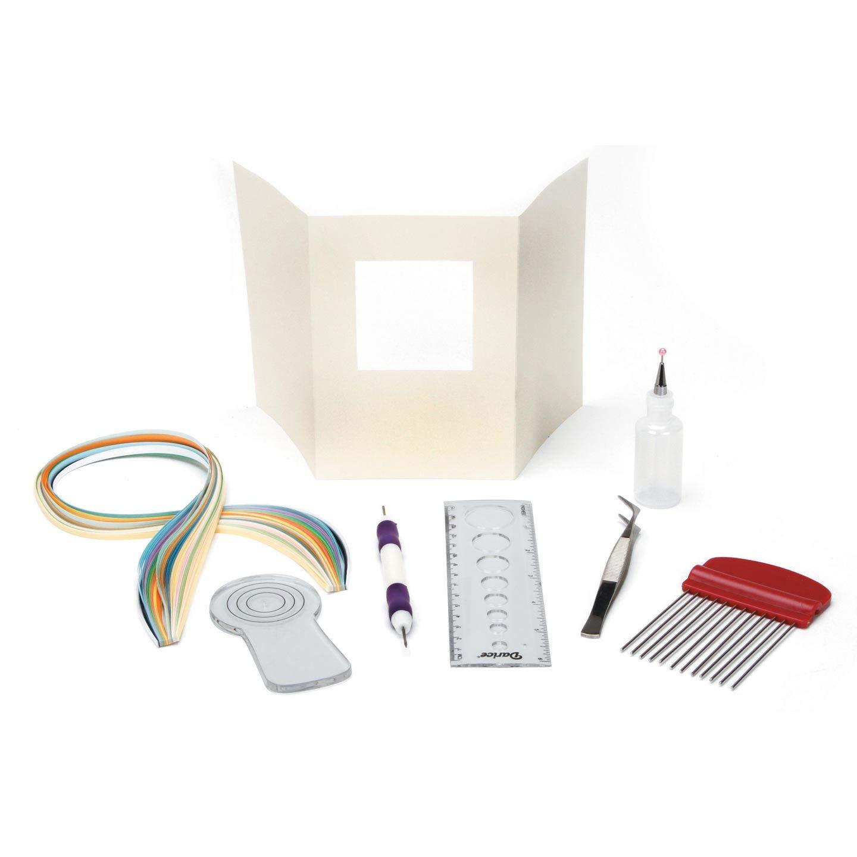 Darice Bulk Buy DIY Paper Quilling Kit with Storage Box (6-Pack) 26801 by Darice