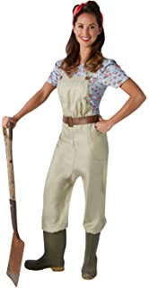 Farmer Costume For Women M Amazoncouk Toys Games