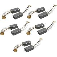 Balais de carbone Sourcingmap®, 5 paires 14mm x 8mm x 5mm, pour outil électrique