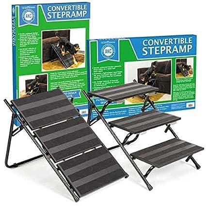 AKC Convertible Pet Steps & Ramp with Anti Slip Strips ...