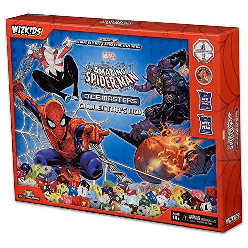 The Marvel Dice Masters: The Amazing Spider-Man Collectors - Dice Masters Case