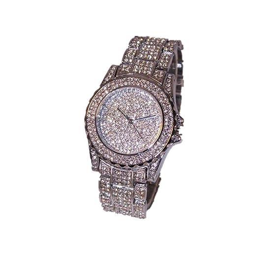 Lujo mujeres relojes – kingwo imitación cerámica Cristal Cuarzo Relojes Mujer Dress Watch