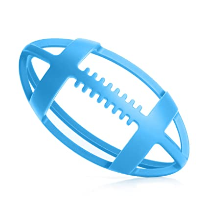BBBiteMe Baby Teething Toys BPA Free Silicone Football Organic Teether for Toddler Chew to Molar