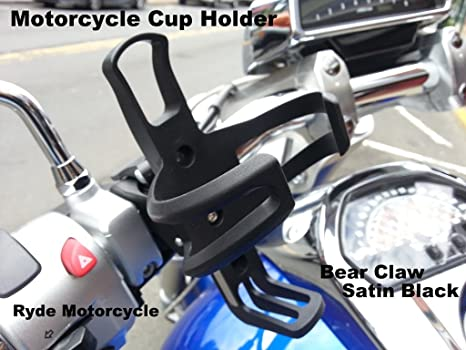 Amazon Com Motorcycle Handlebar Mounted Cup Bottle Drink Holder