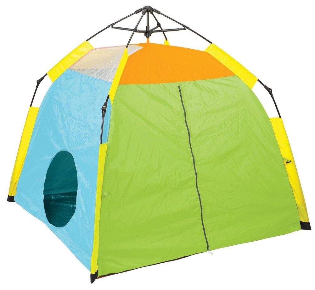 [ノーブランド品] 組み立て簡単 軽量 テント 3人用 グリーン   B01DA6X5KC