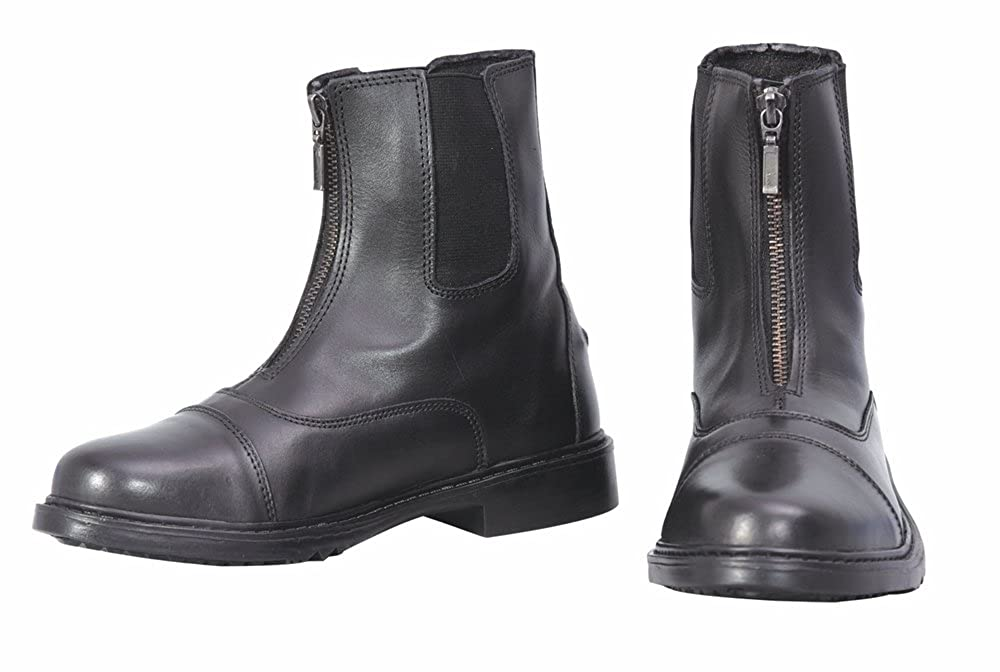 Black 6 Black 6 Tuffrider Ladies Perfect Front Zip Paddock Boots