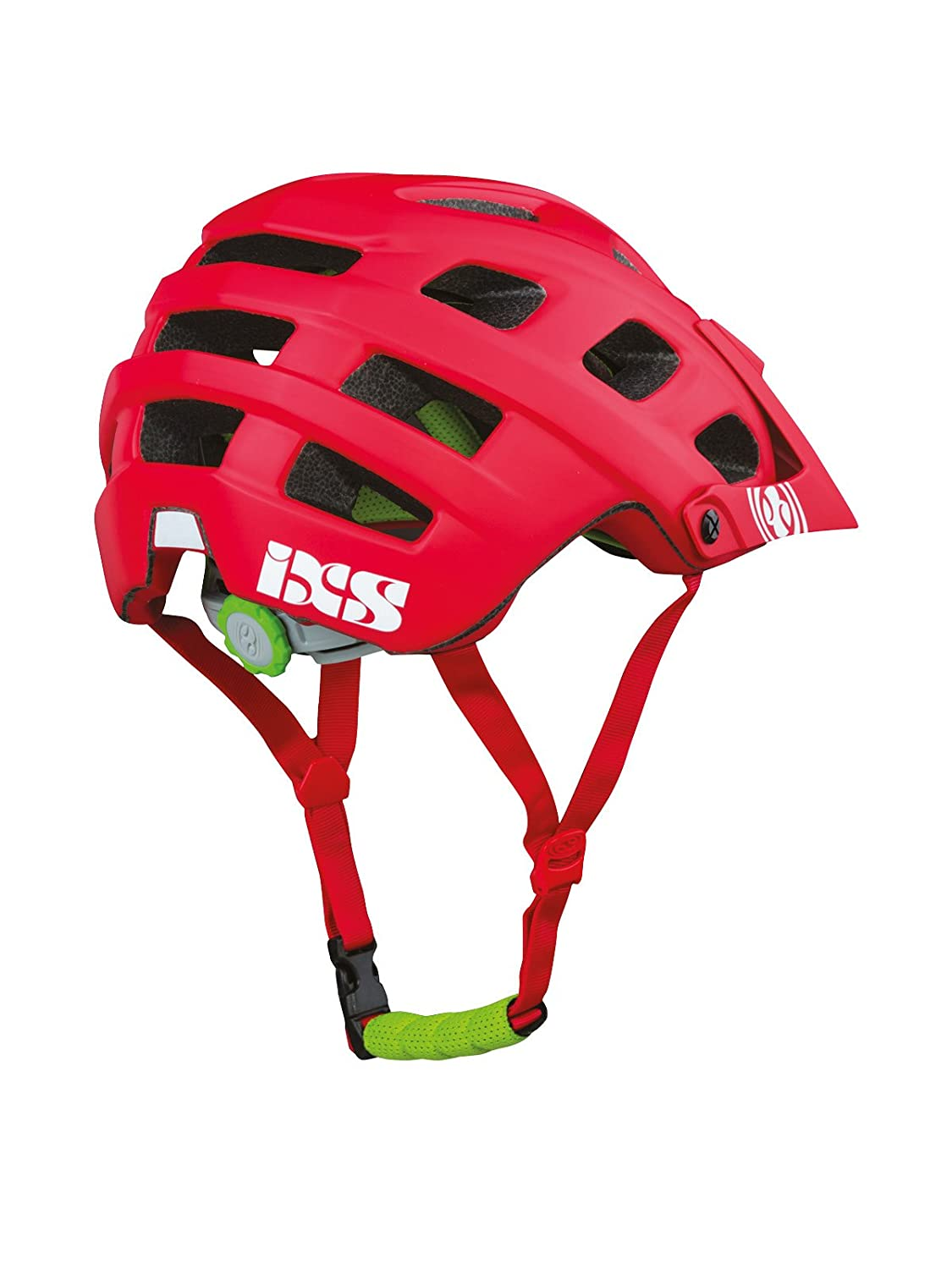 d99cf6b2bba Amazon.com : IXS Trail RS All Mountain Bicycle Helmet Red Medium / Large  M/L : Sports & Outdoors