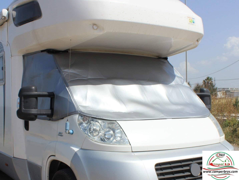 CamperBros Rideaux Isotherme Ext/érieur Camping-Car Transit 2000-2006 Cabine