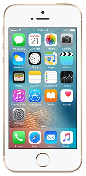Apple Iphone Se Gold 64gb Amazon In Electronics