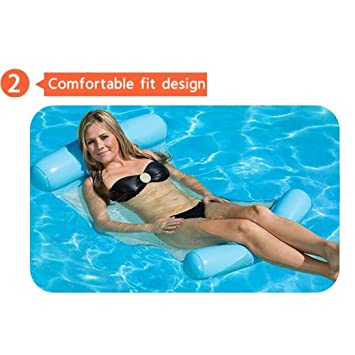 Boofab Water Lounger Hammock Pool Float Inflatable Rafts ...