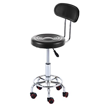 Amazoncom RFIVER Well Medical Spa Ergonomic Drafting Stool Chair