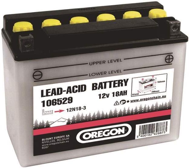 Oregon Scientific - Batería para cortacésped (12 V, 18 Ah, para modelos MTD/Etesia Bahia/Stiga)