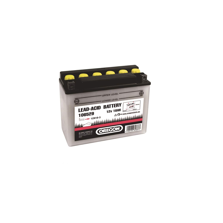 Oregon Scientific - Batería para cortacésped (12 V, 18 Ah, para ...