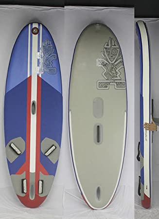 Amazon Co Jp Star Board Star Board Windsup Air Plane 285 Wind Surfing And Sup Board Blue White Red9 4 With Accessories Inflatable Wind Sup Sports