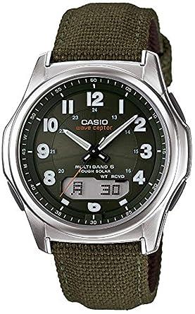Amazon.com  Casio Wave Ceptor Tough Solar MULTIBAND6 Men s Watch WVA ... 54a6a7e365