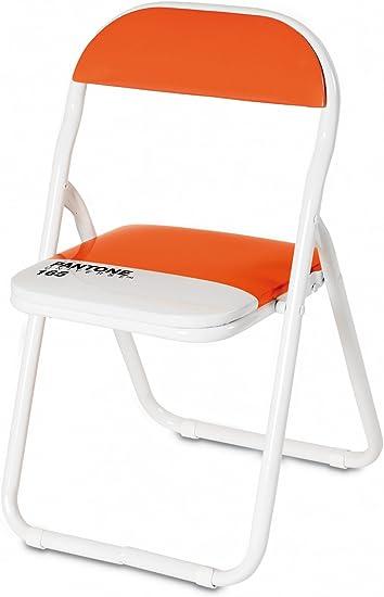 Sedie Pieghevoli Pantone Prezzo.Seletti Baby Sedia Pieghevole Pantone 165 Arancione Arredo
