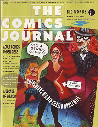 Comics Journal, The #139 VG ; Fantagraphics comic book