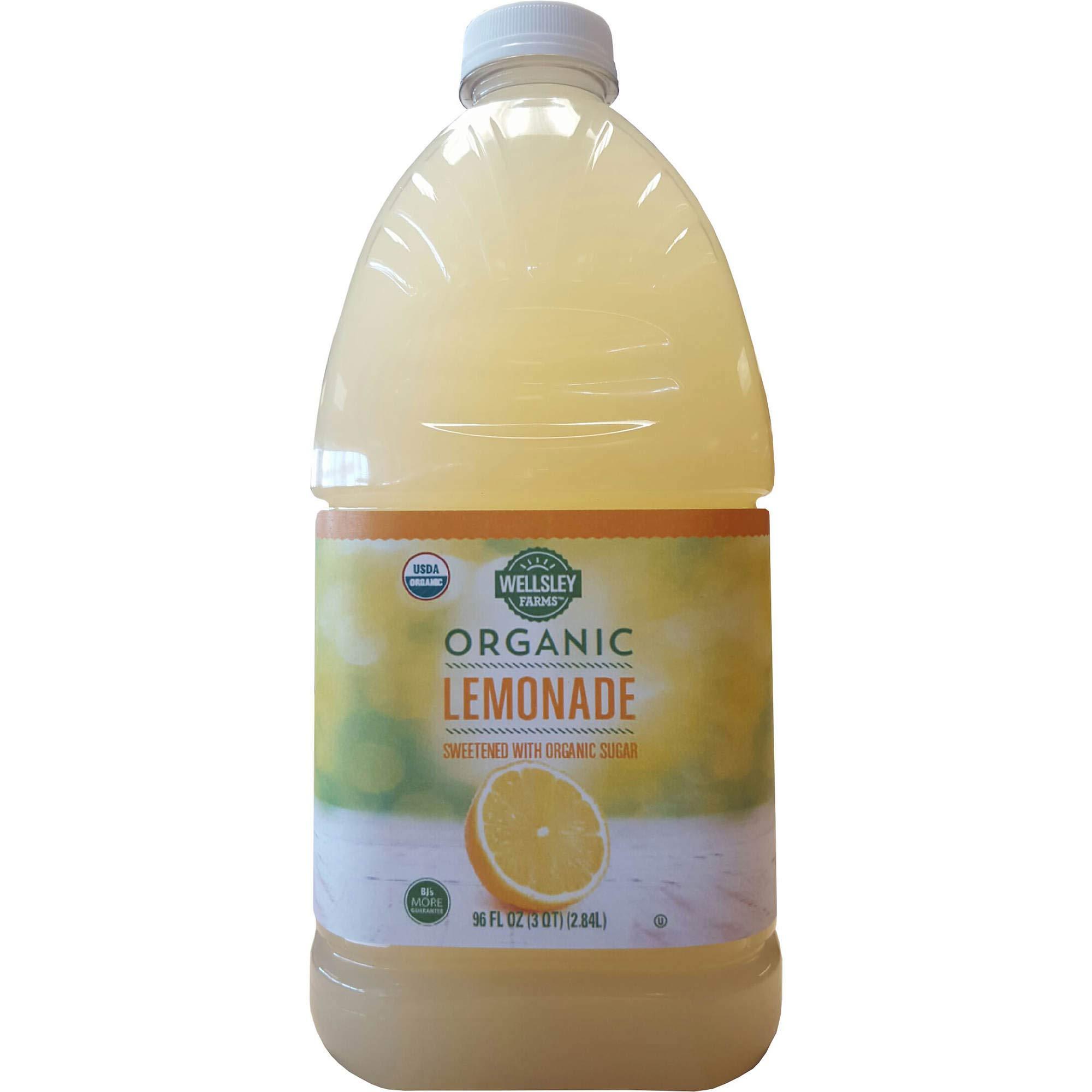 Wellsley Farms Expect More Organic Lemonade, 4 pk./96 oz.