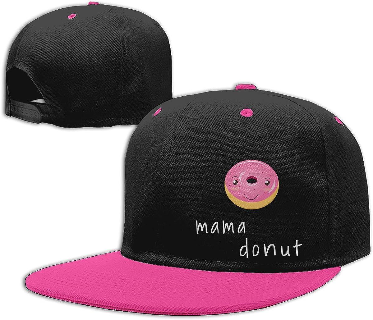 NMG-01 Men Womens Dad Hat Mama Donuts Unisex Flat Peaked Baseball Caps