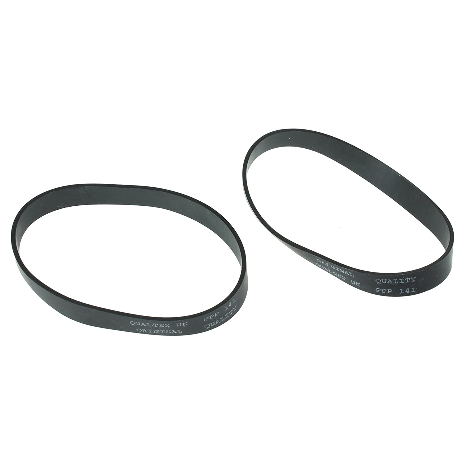 Spares2go Drive Belt for Morphy Richards 73284 73288 Vacuum Cleaners (Pack of 2)