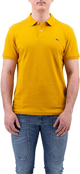 Harmont & Blaine - Polo - para Hombre Amarillo 3XL: Amazon.es ...