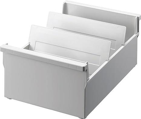 Han 965-13 in polistirolo 235 x 190 x 250 mm Schedario per circa 800 cartellini in formato DIN A5 orizzontale colore: Bianco nero /& Herlitz Divisori alfabetici in plastica formato A5
