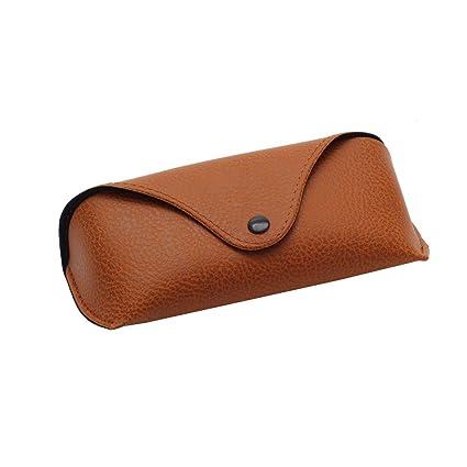style limité plus près de meilleur choix kemai PU étui à Lunettes de Soleil en Cuir Vintage Portable ...