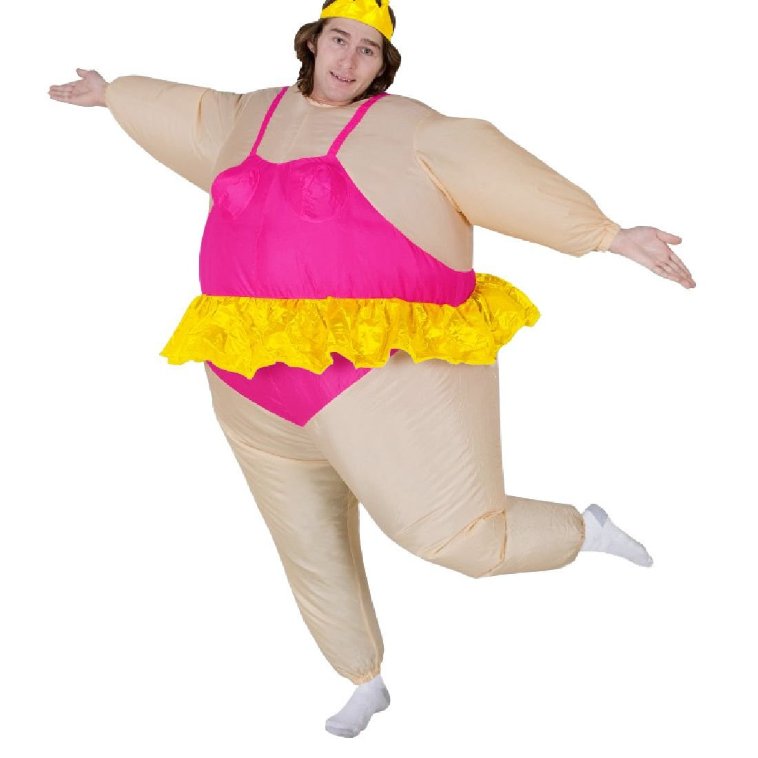 Inflatable Costume Funny Fancy Dresses Chub Suit Inflatable Ballerina Costumes