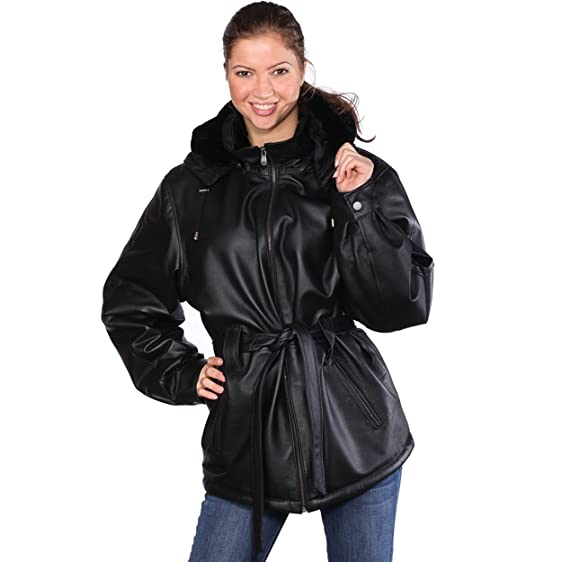 WOMEN'S FALL LEATHER/FUR COAT SALE IS ON! at Amazon Women's Coats Shop