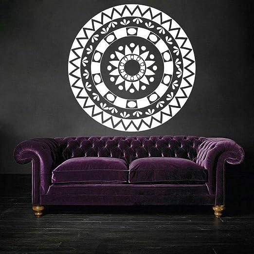 supmsds Mandala Circle Tatuajes de Pared Patrón Repetir ...